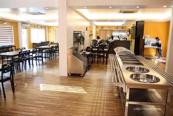 クラークCIPの食堂